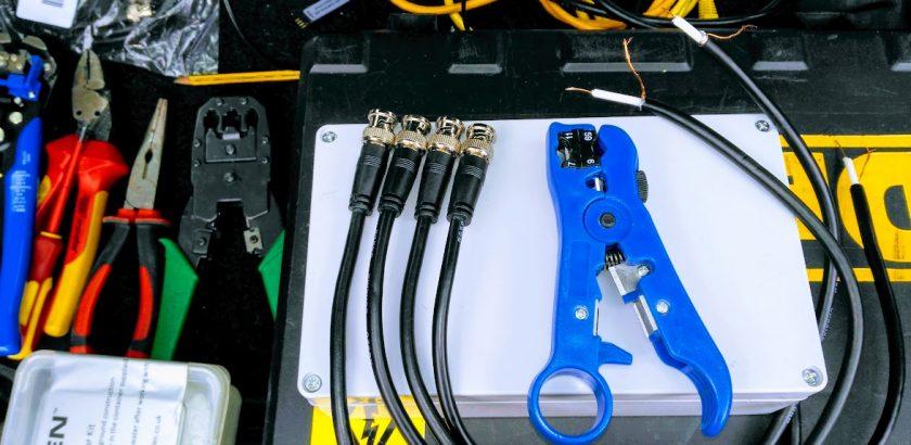 New BNC connectors for CCTV
